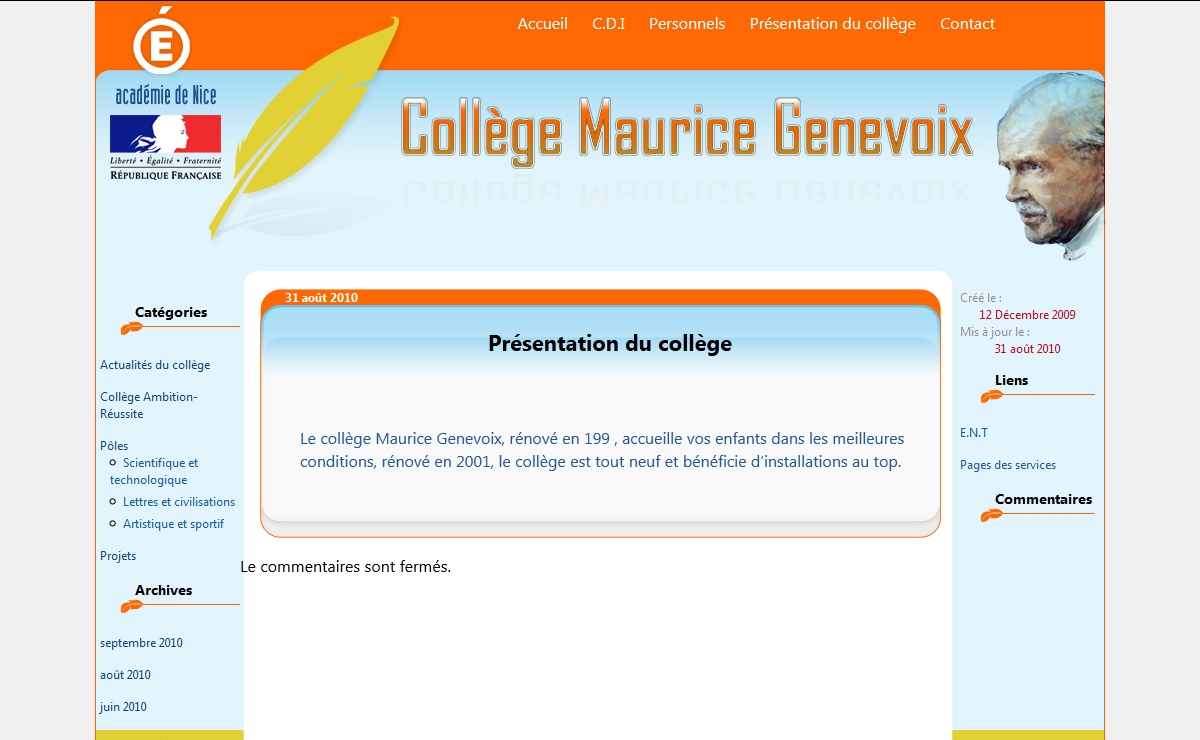 Coll?ge Maurice Genevoix